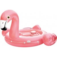 Gigantisk Uppblåsbar Flamingoflotte
