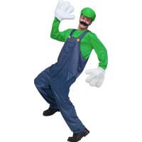 Grön Rörmokare Maskeraddräkt - One size