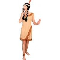 Indiantjej Budget Maskeraddräkt - One size