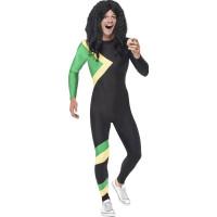 Jamaicansk Sporthjälte Maskeraddräkt - Medium