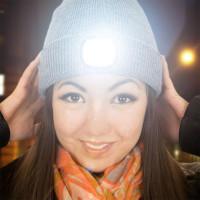 LED Mössa Grå - Grå
