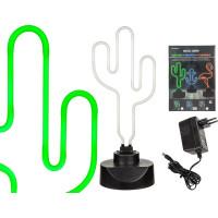 Neonlampa Kaktus