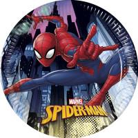 Pappersassietter Spider-Man - 8-pack