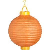 Papperslykta LED Orange