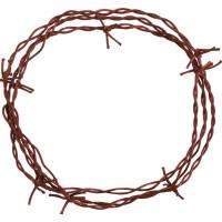 Rostig Taggtråd Dekoration - 300 cm