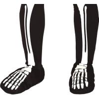 Skelettfötter - One size