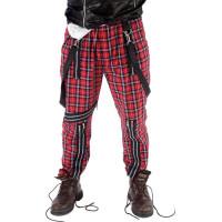 Skotskrutiga Punkbyxor - One size