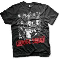 Suicide Squad Svart T-shirt - Medium