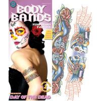 Tattoo FX Gypsy Skull Body Band