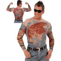 Tattoo T-shirts - Tiger & Dragon