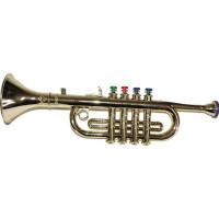 Trumpet i Plast Guld