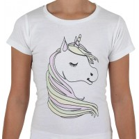 Unicorn T-shirt Barn - Small