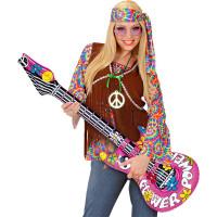 Uppblåsbar Gitarr Flower Power