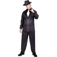 20-tals Gangsterboss Maskeraddräkt - Medium