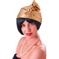 20-tals Hatt med Ros Guld - One size