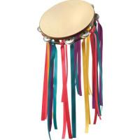 60-tals Hippie Tamburin