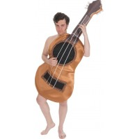 Akustisk Gitarr Maskeraddräkt - One size