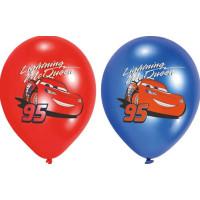 Ballonger Bilar/Cars - 6-pack
