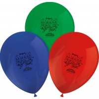 Ballonger Pyjamas Hjältarna - 8-pack