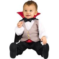 Dracula med Mantel Bebis Maskeraddräkt - One size