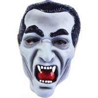 Draculamask med Vampyrtänder - One size