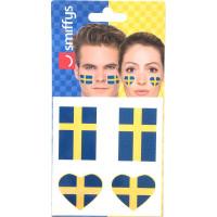 Flaggtatuering Sverige
