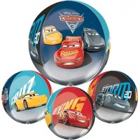 Folieballong Orbz Cars/Bilar