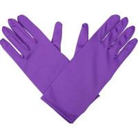 Handskar Korta Lila - One size
