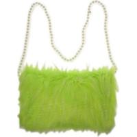 Handväska Neongrön