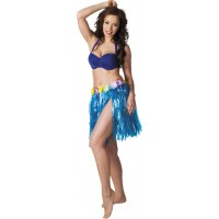 Hawaiikjol Kort Blå - One size