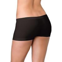 Hotpants Svarta Släta Deluxe - One size