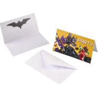 Inbjudningskort Lego Batman - 8-pack