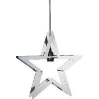 Julstjärna Starling i Metall