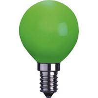 Klotlampa E14 LED - Grön