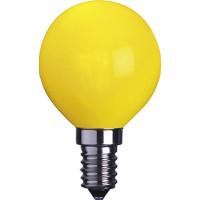 Klotlampa E14 LED - Gul