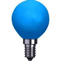 Klotlampa E14 LED - Blå