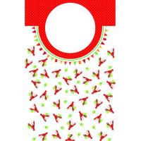 Kräfthaklappar med Snapsvisor - 4-pack