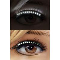 LED Eyeliner Vit - 2-pack
