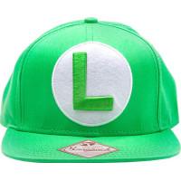 Luigi Snapback Keps