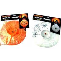 Lykta Halloween - Vit