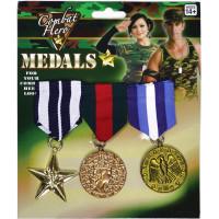 Militärmedaljer 3-pack