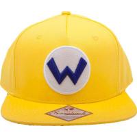 Nintendo Wario Logo Snapback Keps - One size