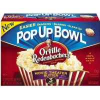 Orville Redenbachers Movie Theater Butter Micropopcorn - 3-pack