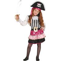 Piratklänning Barn Maskeraddräkt - 5-6 år