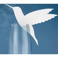 Placeringskort Glas Kolibri - 10-pack