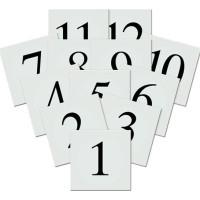 Placeringskort Siffror - 12-pack