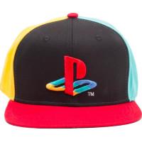 PlayStation Logo Snapback Keps - One size