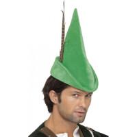 Robin Hood Lång Hatt - One size