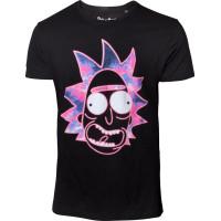 Rick & Morty Neon Rick T-shirt - Small