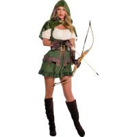 Robin Hood Dam Maskeraddräkt - Small